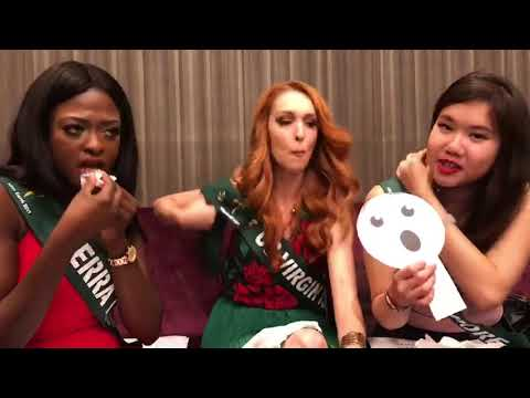 Miss Earth Crown Chat part 3: Sierra Leone, US Virgin Islands and Singapore