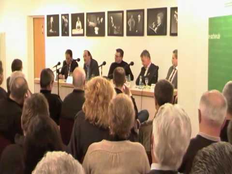 Dr. Karl-Heinz Gerstenberg, Grüne - Podiumsdiskussion Montanregion Erzgebirge