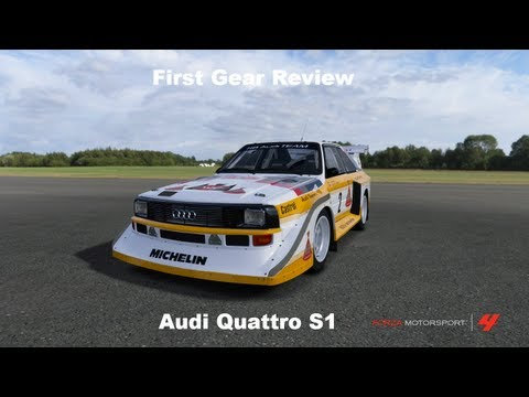 First Gear Audi Sport Quattro S1 Review
