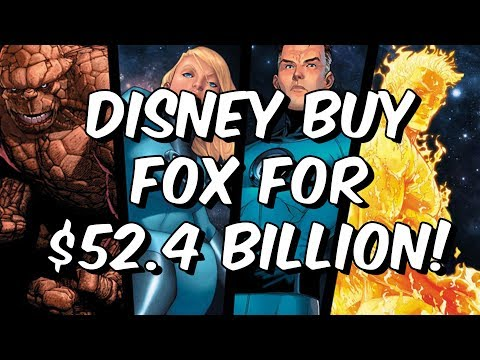 Disney Buy Fox For $52.4 Billion! - Fantastic Four, X-Men & Deadpool - Marvel Contest Of Champions
