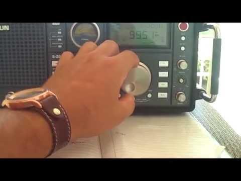 99.50 MHz Radio 99,5 FM Goiânia  20  MIL Watts ♫ (●) ♫ ♪♪ DX desde Goiânia - GO