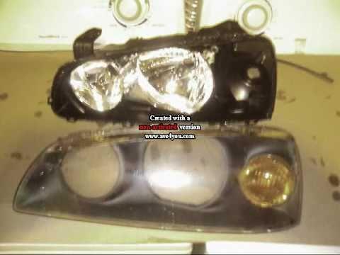 Projet Tuning Elantra 2004, Headlight