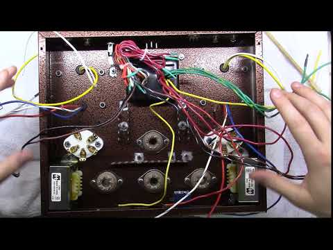 Single Ended Tube Amplifier Build 2017 - Part 13 - Power and Heater Wiring