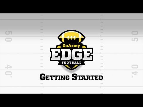 GoArmy Edge Football - Getting Started