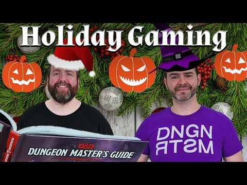 Holiday Gaming: Halloween, Christmas & More in 5e Dungeons & Dragons - Web DM