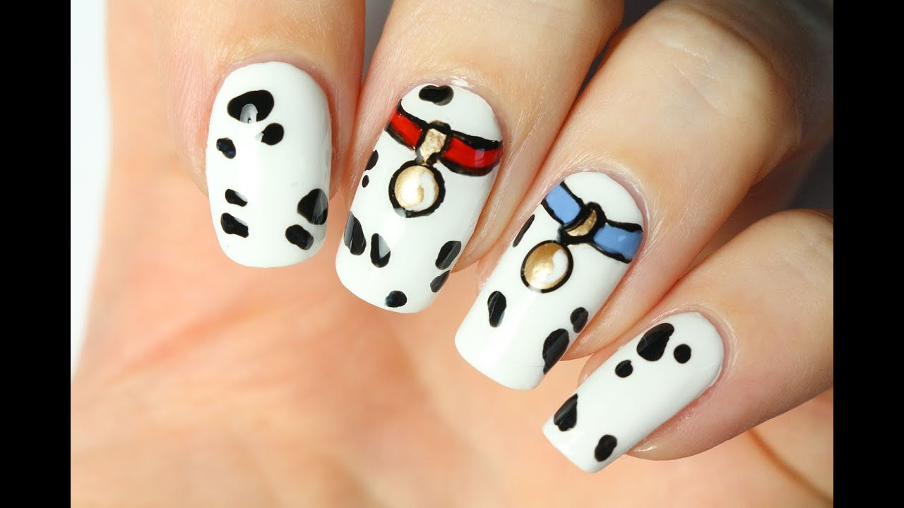- Nail Art Disney : Les 101 Dalmatiens - YouTube