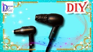 Как сделать Фен для кукол. DIY. How to make a Hair dryer for dolls.(, 2015-04-08T18:51:48.000Z)