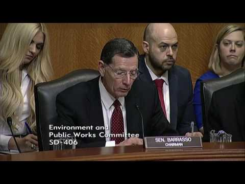 Chairman Barrasso: Modernize Flood Control Infrastructure