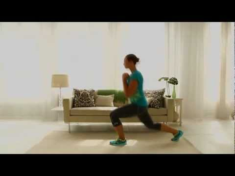 Lose Weight Workout: Pendulum Lunges
