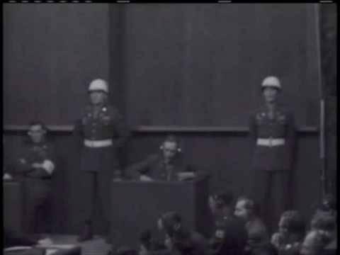 Nuremberg Day 77 Robert H. Jackson / Bodenschatz