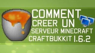 Comment créer un serveur minecraft 1.7.10+ CraftBukkit (avec plugins) - TUTO FR