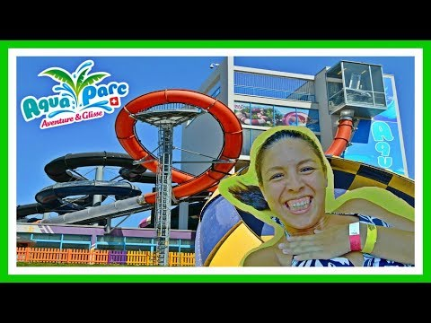 AQUAPARC LE BOUVERET: Water Park in Switzerland | Suiza | Suisse | Schweiz