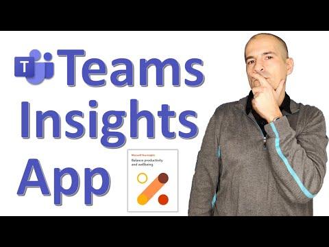 📈 How to use Teams Viva Insights App [Microsoft Viva] PREVIEW