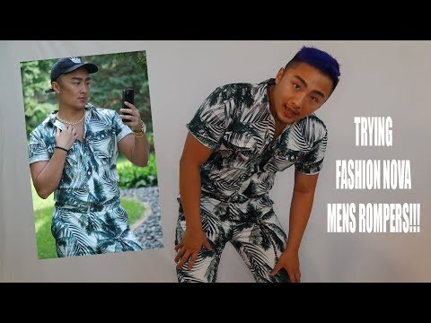 BUY or BYE Trying Mens Rompers FASHIONNOVA Review