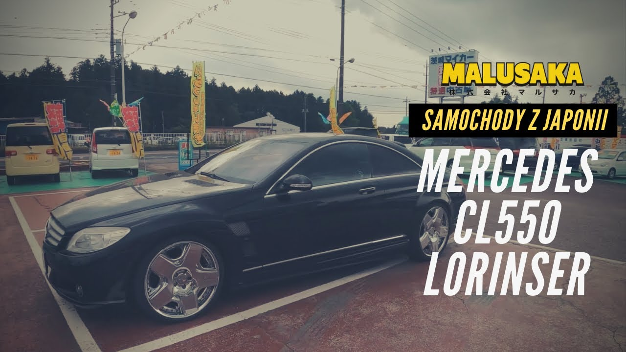 Mercedes CL550 Lorinser - Samochody z Japonii