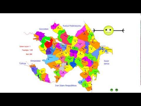 Xəritə Oyunu - Azərbaycan (Map Game - Azerbaijan)