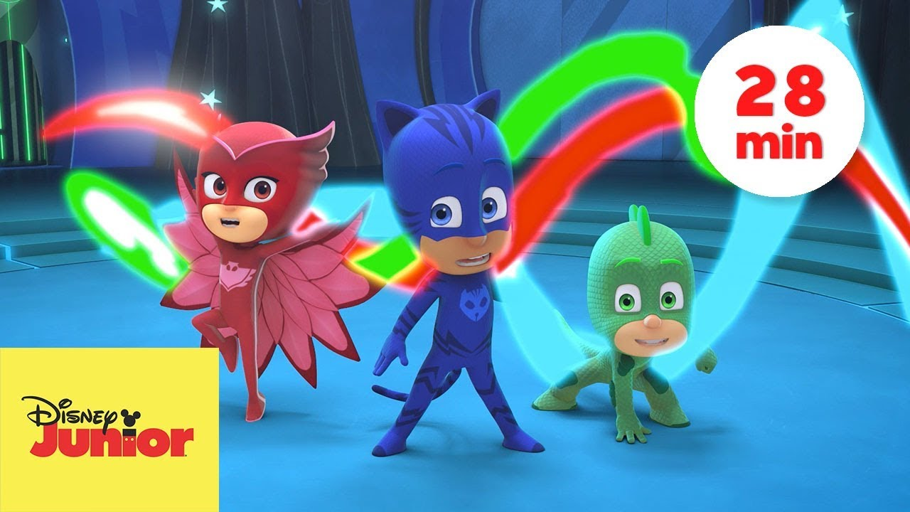 How To Make 3d Wallpaper Supermisiones Pj Masks H 233 Roes En Pijamas Youtube