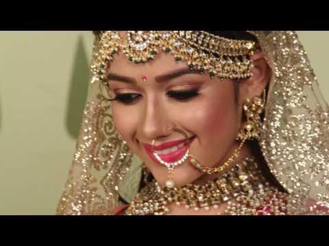 Jannat Zubair (Pankti Sharma's) Bridal look/Bridal Makeup