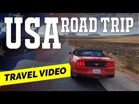 USA Road Trip 10.000 km - Travel Video HD
