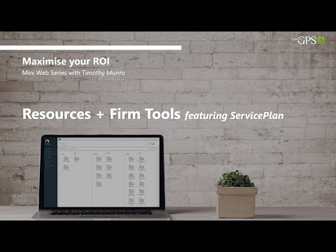 ChangeGPS Mini Series | Resources & Firm Tools featuring ServicePlan