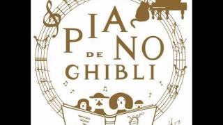 Piano de Ghibli-Once in a While - Talk of the Bygone Days (Porco Rosso)