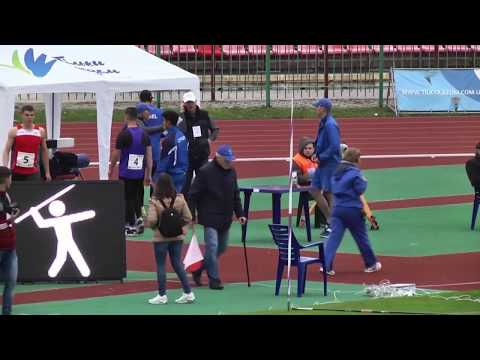 Javelin Throw, Men – Lutsk 2017 (International Athletics U20 Match Meeting)