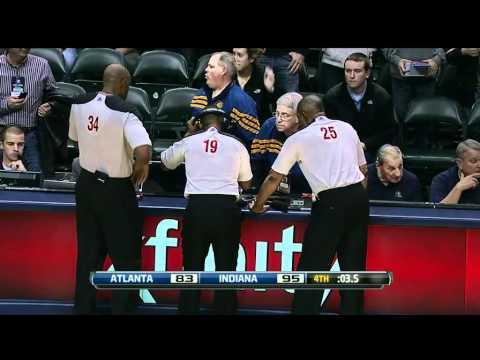 Jason Collins Flagrant Foul on Amundson