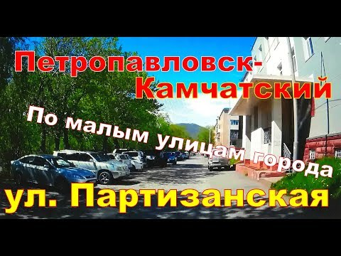 Петропавловск- Камчатский    ул.  Партизанская