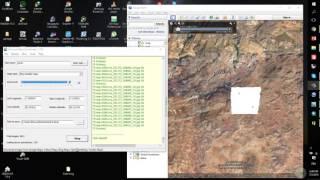 téléchargement de carte satellite avec universal map downloader