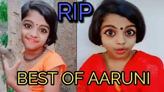 Aaruni Kurup Best Video from TikTok, Talented Kid, RIP😢😢