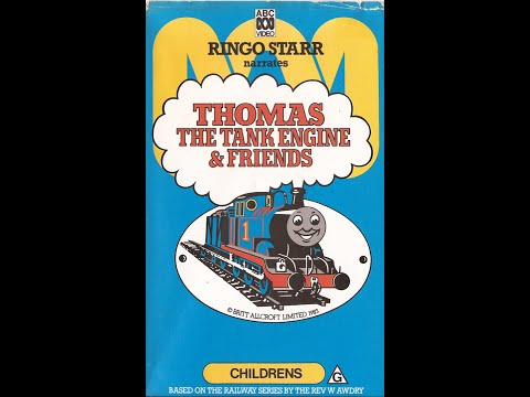 Thomas The Tank Engine & Friends - Volume 1 (Australia) Complete 1987 VHS
