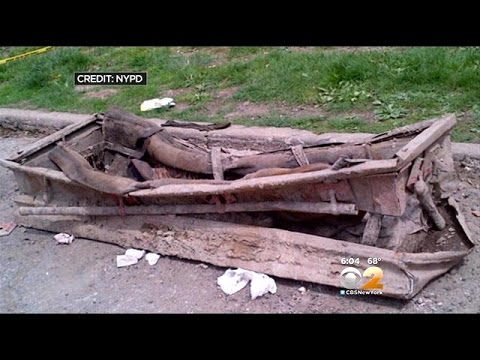 Abandoned Casket With Human Remains Found In Brooklyn