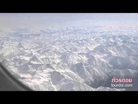 Flight from Delhi to Leh Ladakh India