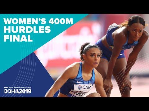 Women's 400m Hurdles Final - World Record   World Athletics Championships Doha 2019