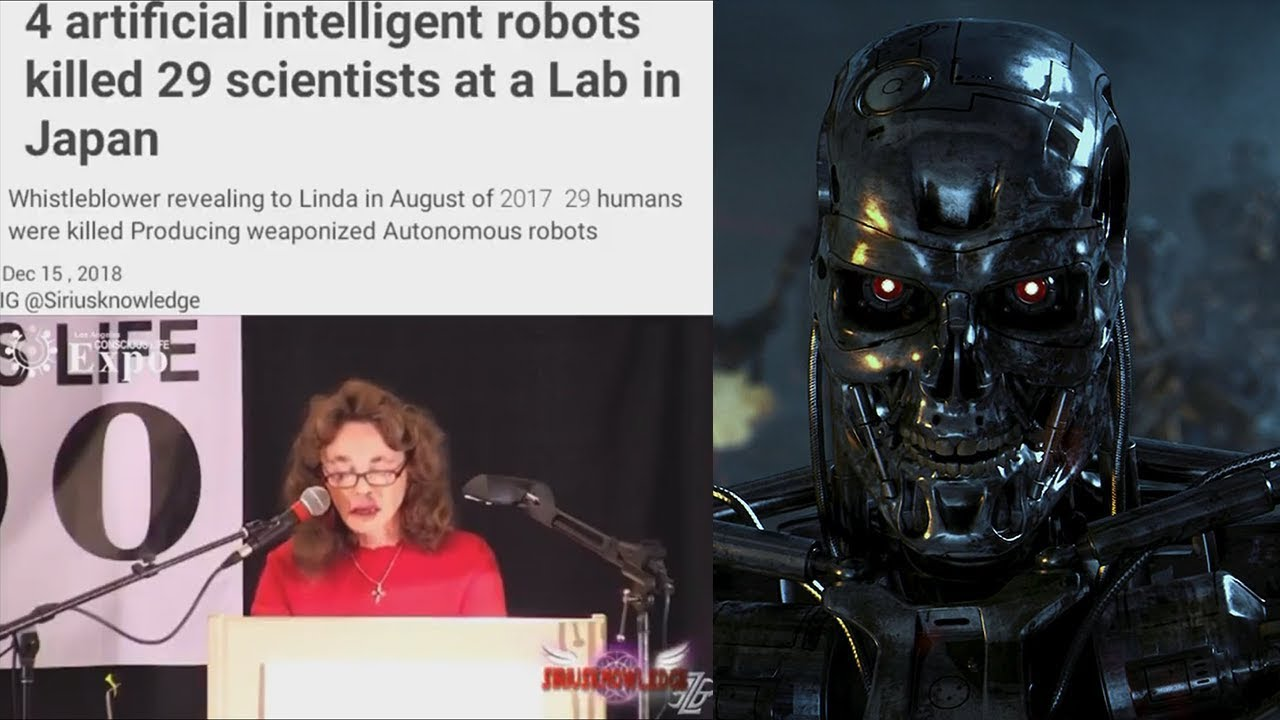 Robots Kill 29 Scientists In Japan Youtube