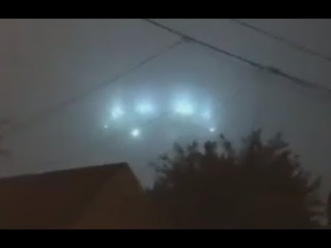 Enormous UFO Captured Over Oxnard, California. September 10, 2018