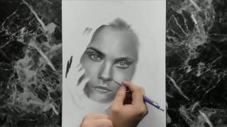 pencil step easy drawing realistic face faces beginners draw