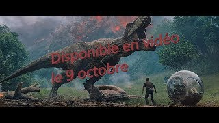 Jurassic World: Fallen Kingdom en vidéo le 9 octobre 2018 - Bryce Dallas Howard, Chris Pratt