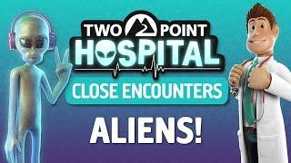Two Point Hospital PL | DLC Close Encounters #10 - Kto jest kosmitą?