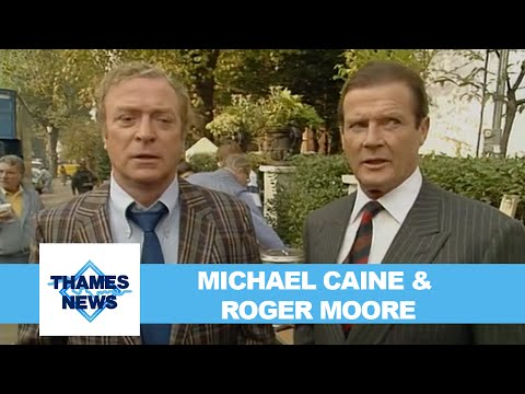 Michael Caine and Roger Moore Talk About Bullseye | Thames News