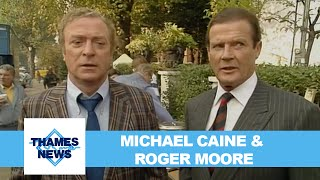 Michael Caine and Roger Moore talk about Bullseye