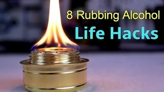 8 Unusual Uses for Rubbing Alcohol