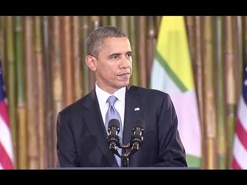 President Obama Speaks at the University of Yangon