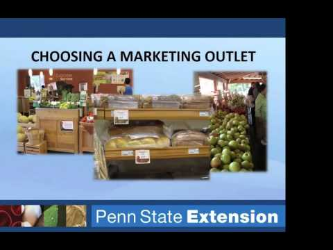 Agriculture Marketing 101 - PASA Webinar