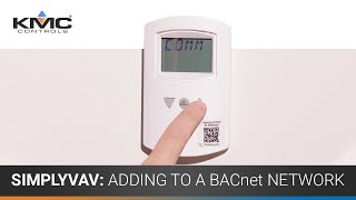 SimplyVAV: Adding To A BACnet Network