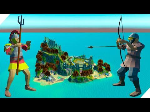 Варвары викинги напали на крепость римлян - Ravenfield