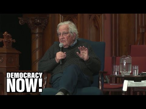 "Chomsky: Cutting Off Military Aid To Israel Would Have ""major Effect"" On Middle East"