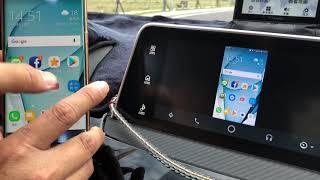 Android Auto on Mithunishi Eclipse Cross SDA