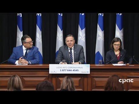Mise à jour du Québec sur la COVID-19 – 16 mars 2020
