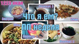 видео: Что я ела на неделе 1 / Восстанавливаем рацион питания после НГ / 1200 ккал в день / I am a Woman